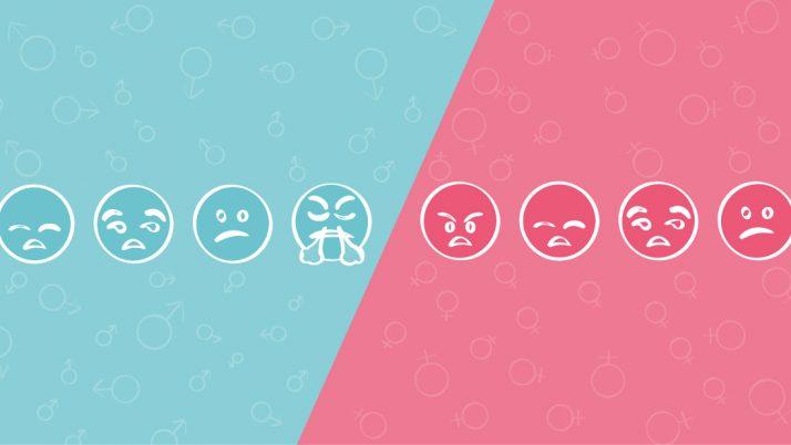 ¿Por qué las emociones se leen según el género?