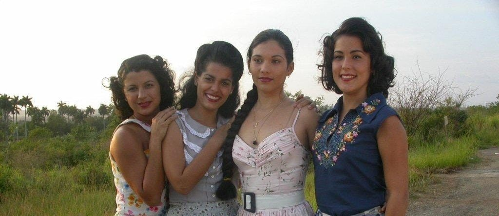 Actrices que representaron a las hermanas Mirabal en En el Tiempo de las Mariposas