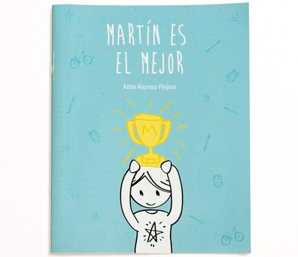 """Portada libro """"Martín es el mejor"""""""