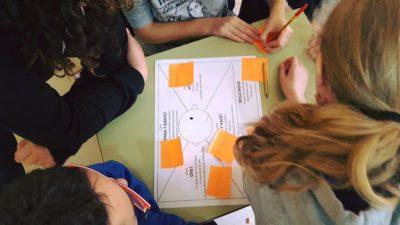 """Talleres ciberacoso de género con """"Mapas de Empatía"""". Faro de Vigo."""