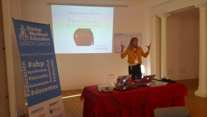Evento StartUpWeekend EduGalicia. Santiago de Compostela.