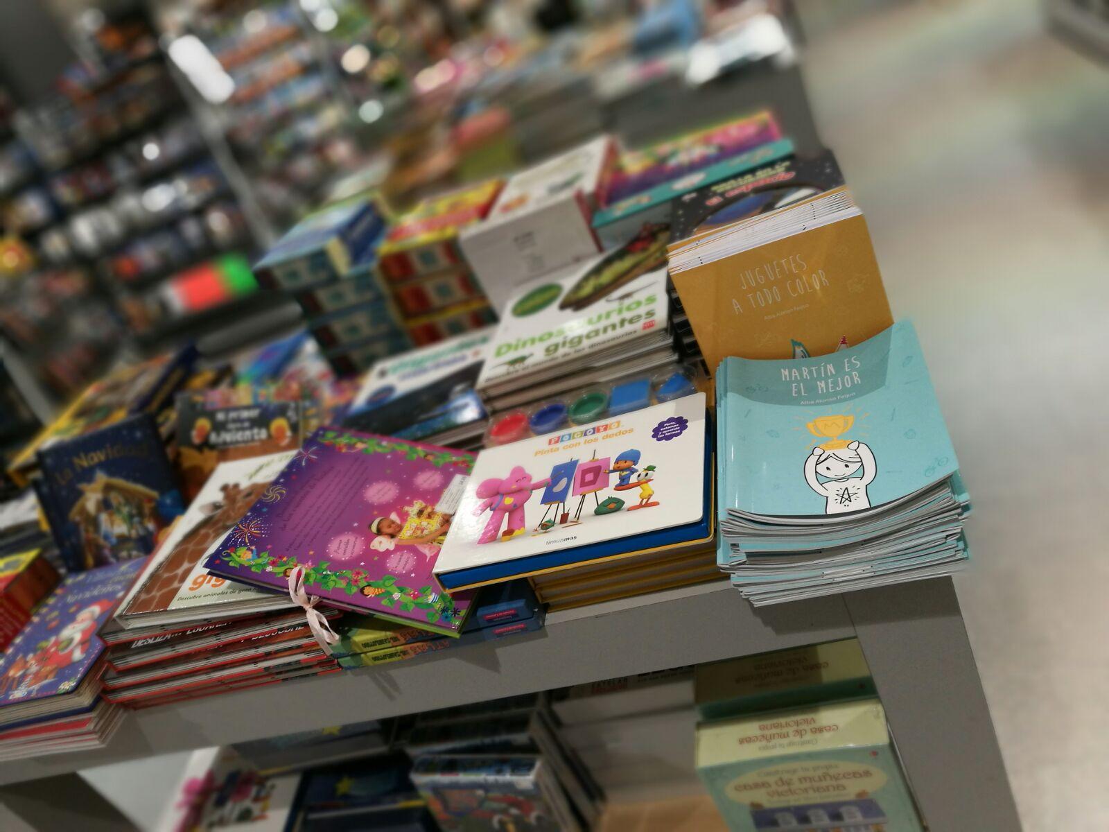 juguetes rosas o azules, martín es el mejor, libros, Realkiddys, el corteinglés