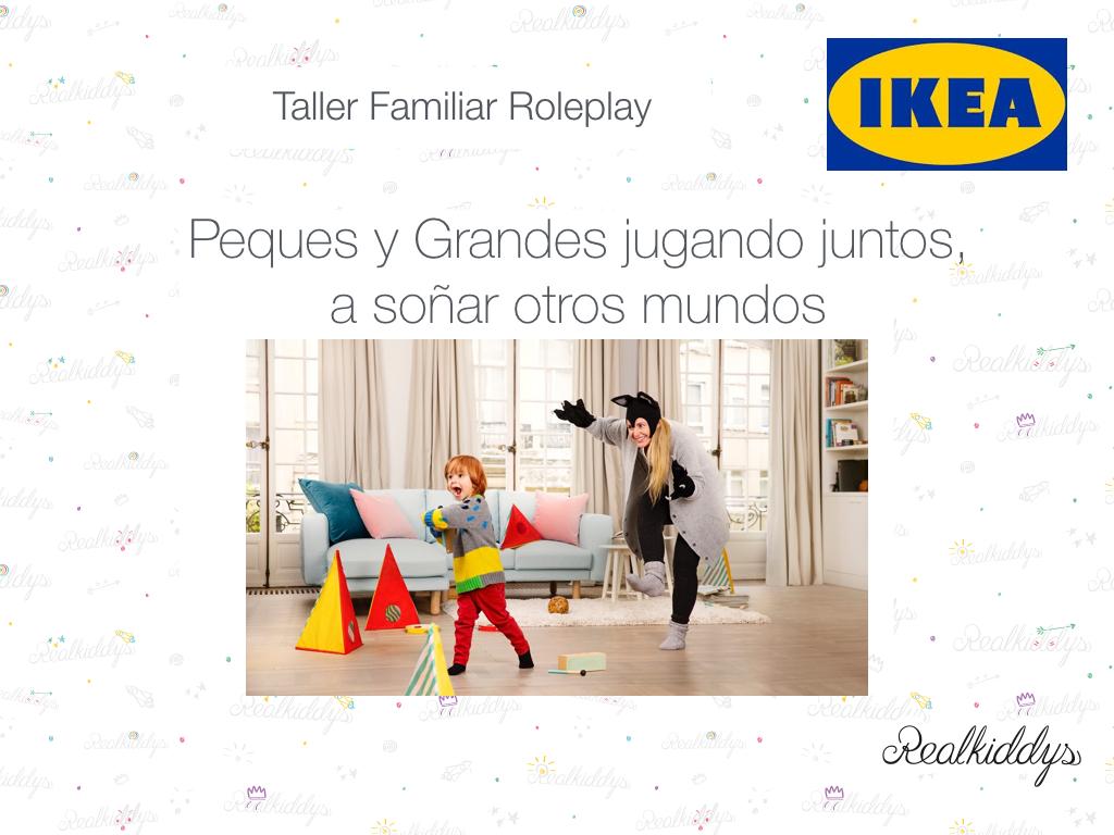 taller, roleplay, ikea, Realkiddys, familia