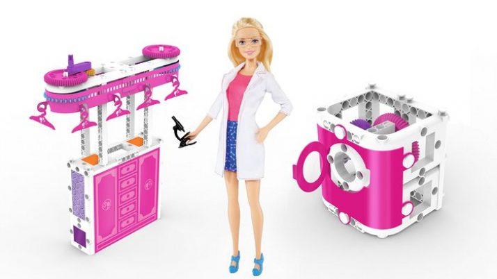 Barbie científica. Día internacional de la mujer y la niña en la ciencia.