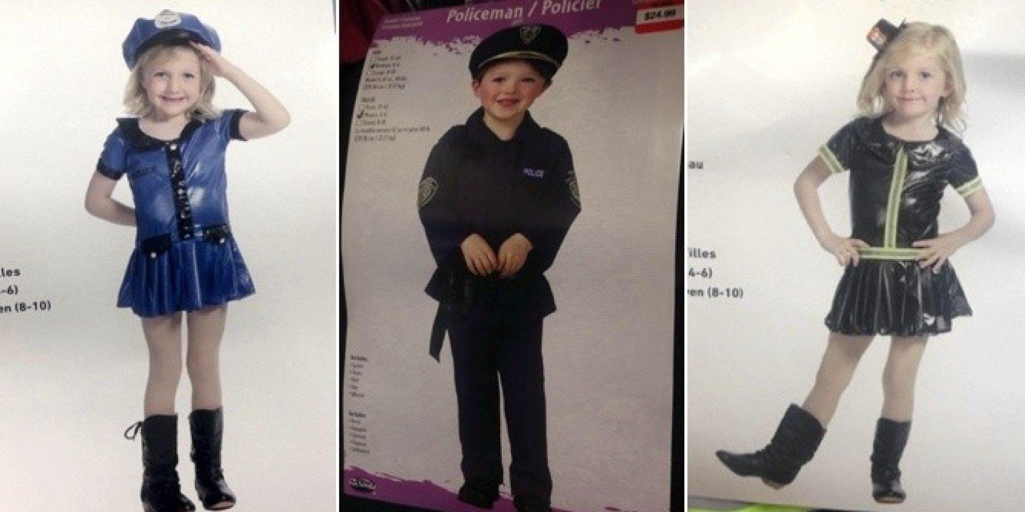 sexismo en los disfraces infantiles