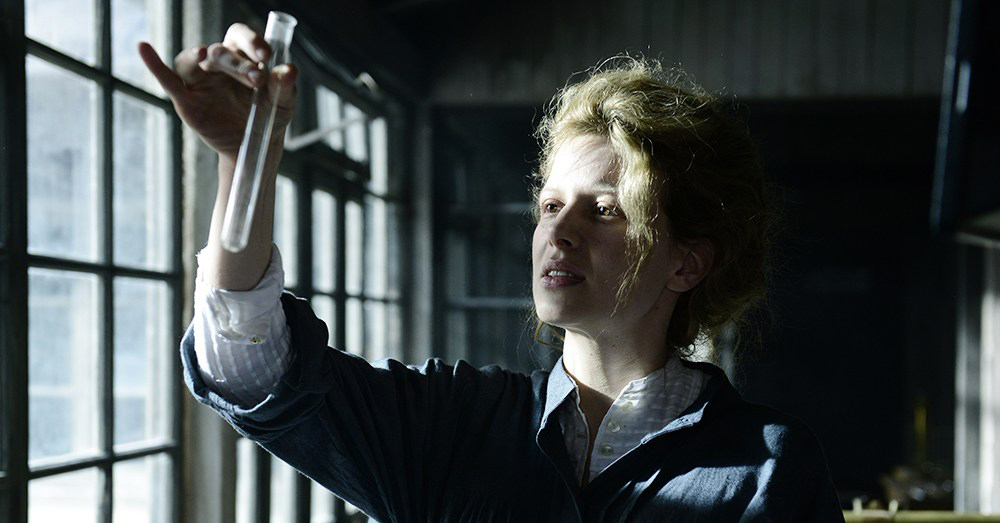 Marie Curie, heroína en el cine