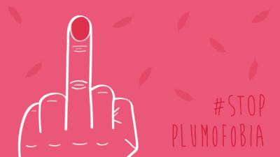 La plumofobia en el mundo infantil #StopPlumofobiaInfantil