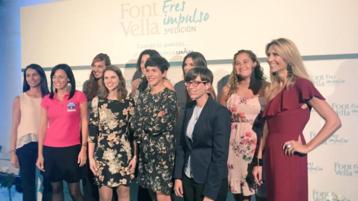 Gala Eres Impulso de Fontvella. Barcelona.