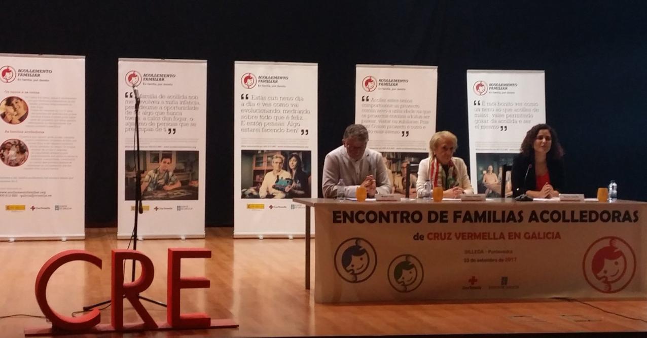institucións evento familias acogedoras