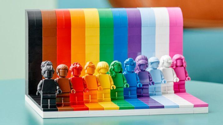 Lego apuesta por la diversidad con su nuevo set LGBTI
