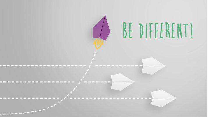 Diferente: la valía de ser tú vs. la valía de seguir al rebaño